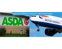 Organisational Behaviour Assignment British Airways & ASDA