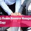 Unit 3 Human Resource Management Pass Copy