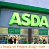 Unit 11 Research Project Assignment – ASDA