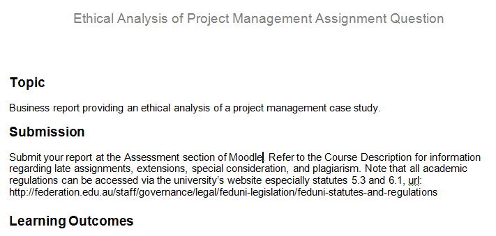 project management assignment papers Free project management papers, essays, and research papers.