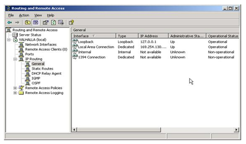 Routing and Remoting Access