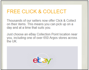Click & Collect application