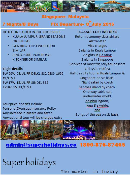 Singapore - Malaysia Trip