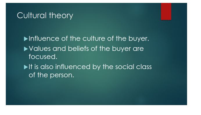 Buyer behavior in terms of individuals and markets 4