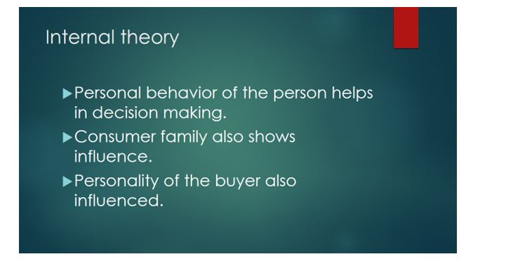 Buyer behavior in terms of individuals and markets 6