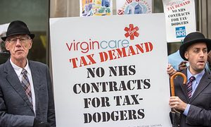 Unit 1 Business Environment Assignment – Virgin vs NHS