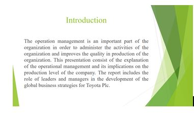 Unit 4 Management Operations Assignment