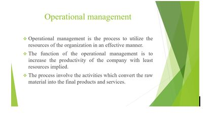 Unit 4 Management Operations Assignment1