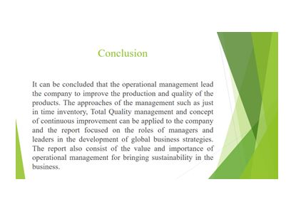Unit 4 Management Operations Assignment11