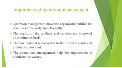 Unit 4 Management Operations Assignment6