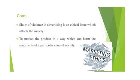 Importance of ethics and social concern responsibility in marketing Slide 4