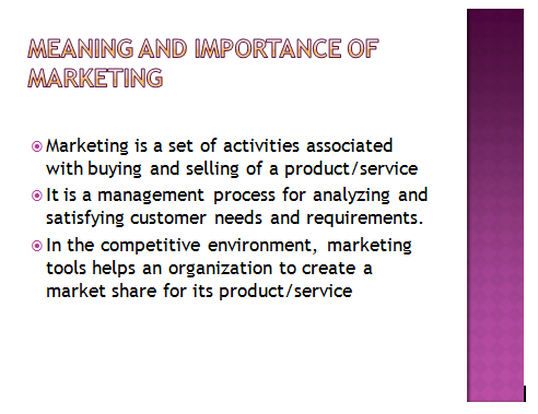 Marketing Management Presentation