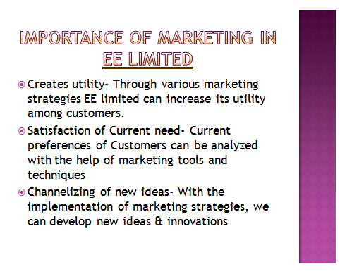 Marketing Management Presentation