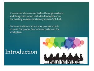 develop the communication process presentation 2
