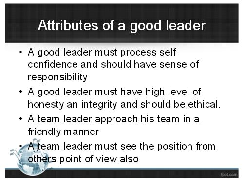 Leadership Skills Presentation 2