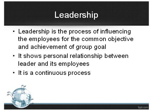 Leadership Skills Presentation 4