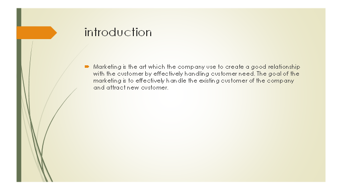 Marketing Essentials Slide 1