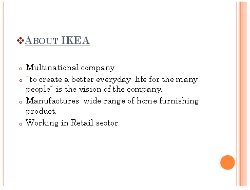 Unit 1 Business Environment Assignment Solution - IKEA
