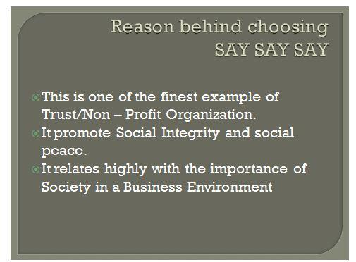 Business enviroment Presentation 6