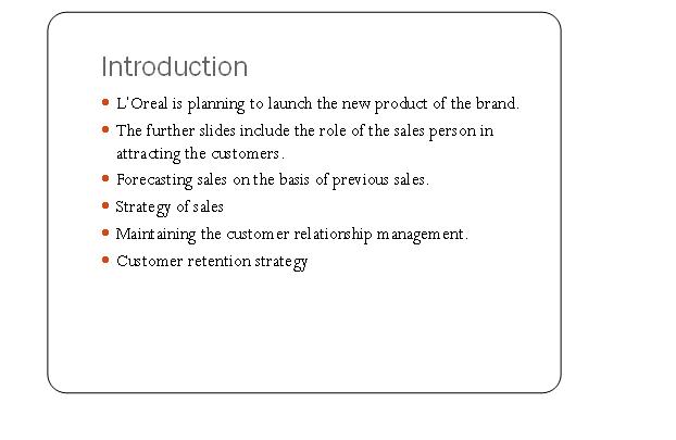 L'Oreal Marketing Slide 1