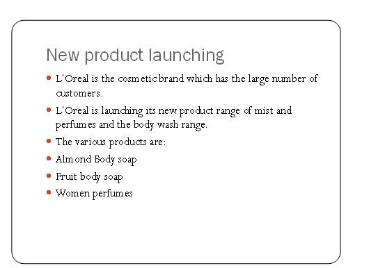 L'Oreal Marketing Slide 2