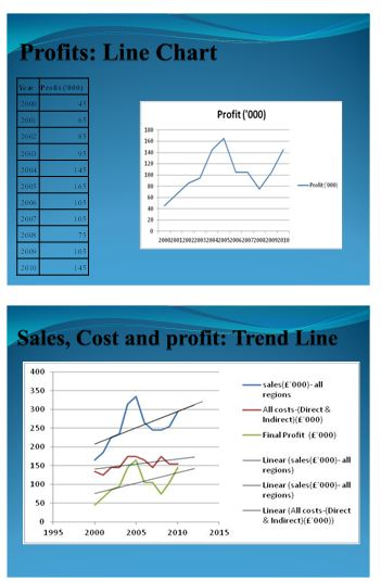 Presentation on sales and profit 4