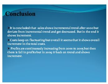 Presentation on sales and profit 5