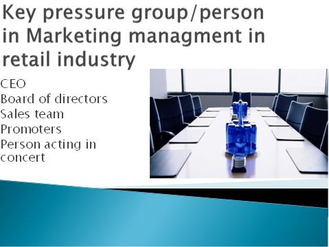 key pressure group