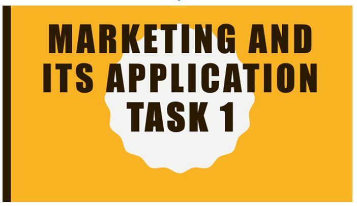 Marketing application presentation 1