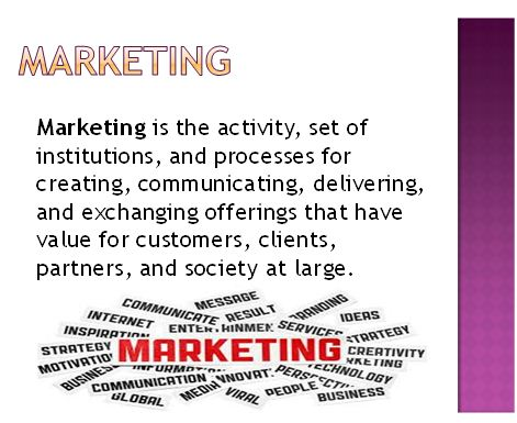 Marketing Essentials Presentation 1