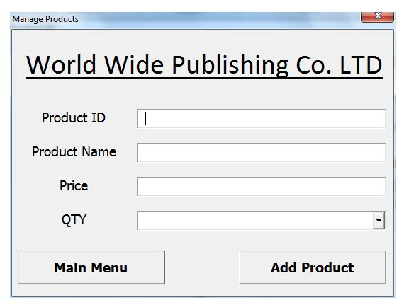 Form insert product in database, UK assignment Writing Service