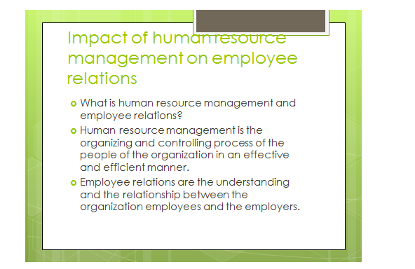 impact human resource management slide 1, Uk assignment writing service