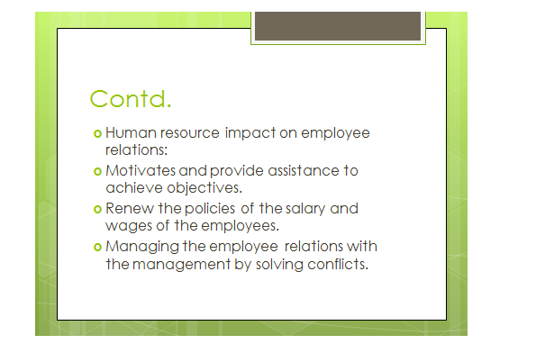 impact human resource management slide 2