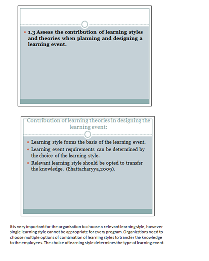 learning styles and their importance slide 10, 11