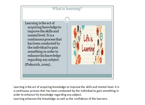 learning styles and their importance slide 3
