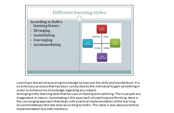 learning styles and their importance slide 4