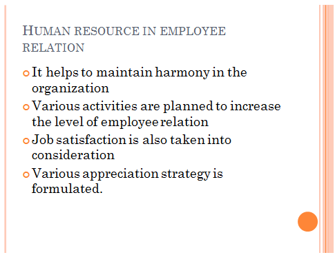 Employee Relations ppt