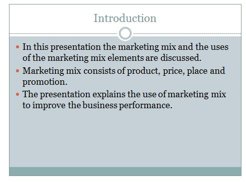 Marketing principle presentation slide 1, UK Assignment writing Services