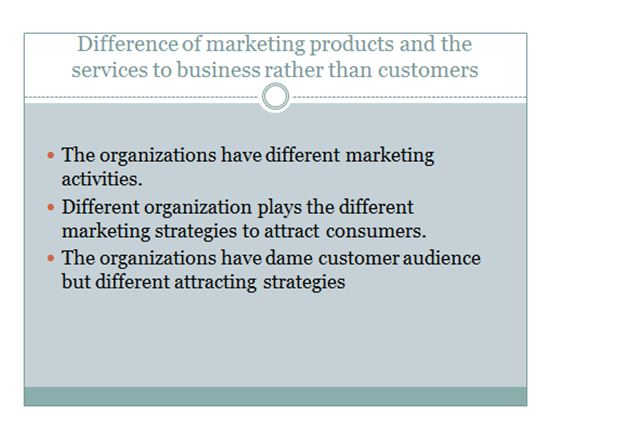 Marketing principle presentation slide 4