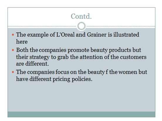 Marketing principle presentation slide 5
