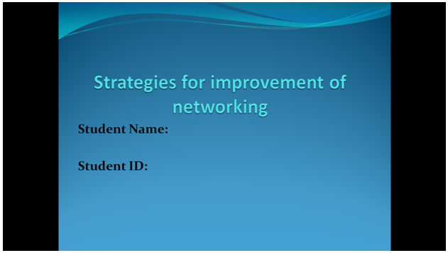 strategies improvement | HND Assignment