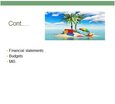 finance and funding ppt
