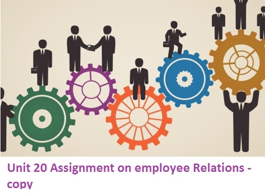 Unit 20 Assignment employee Relations