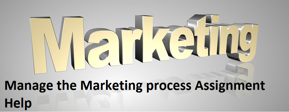 Manage marketing process Assignment Help