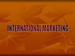 Unit 40 International Marketing Assignment Globalization 9