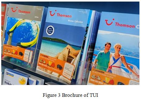 Brochure of TUI