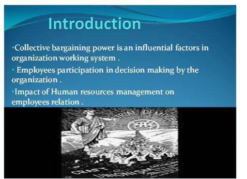 Employee Relation Presentation Slide 1