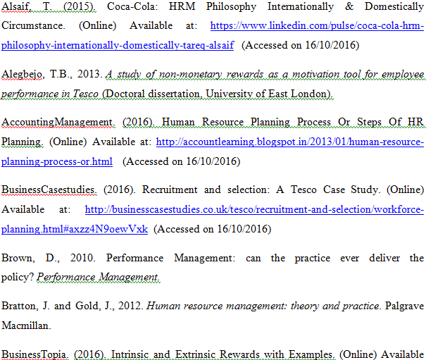 Unit 22 Human Resources Planning Assignment 9