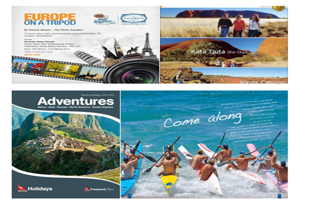 Brochures for adventure holidays