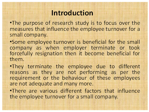 Unit 33 Assignment on Research project of small business Enterprise 22